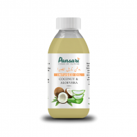 Pansari's Coconut & Aloe Vera Infused Oil
