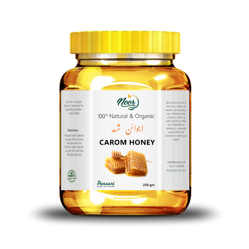 100% Pure Carom Honey
