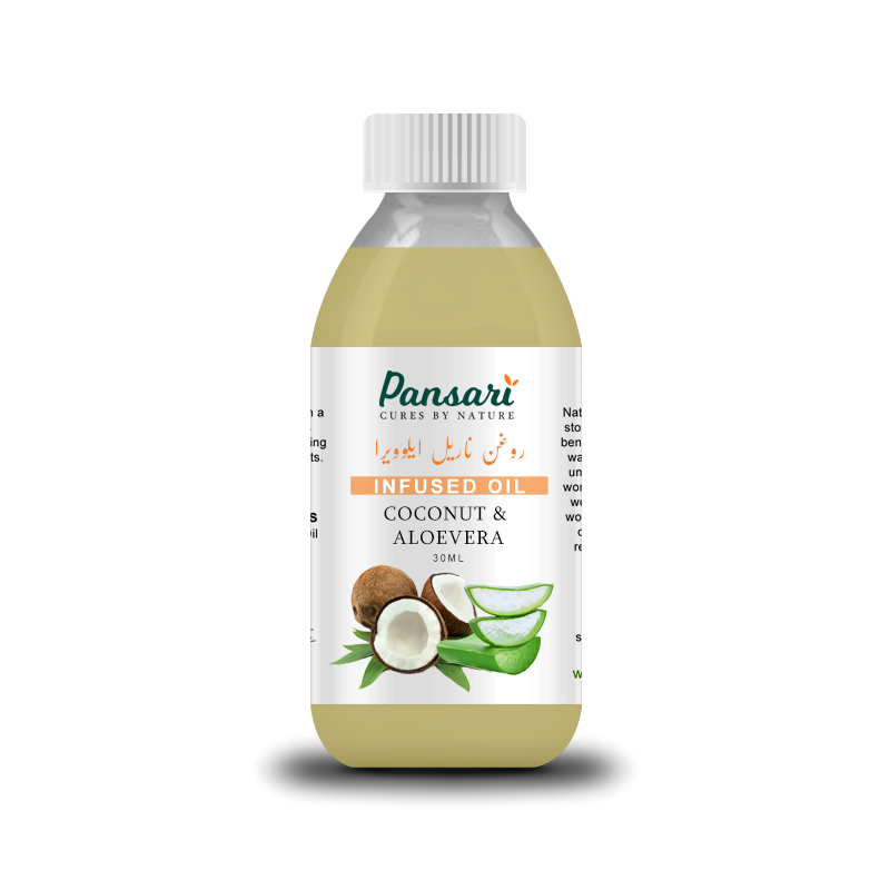 Pansari's Coconut & Aloe Vera Infused Oil
