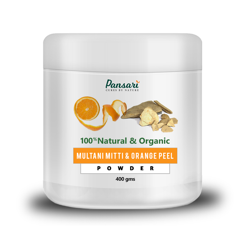 Multani Mitti & Orange Peel Powder