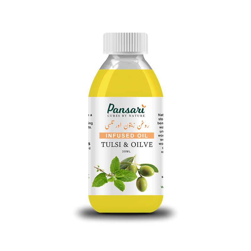 Pansari Tulsi & Olive Infused Oil