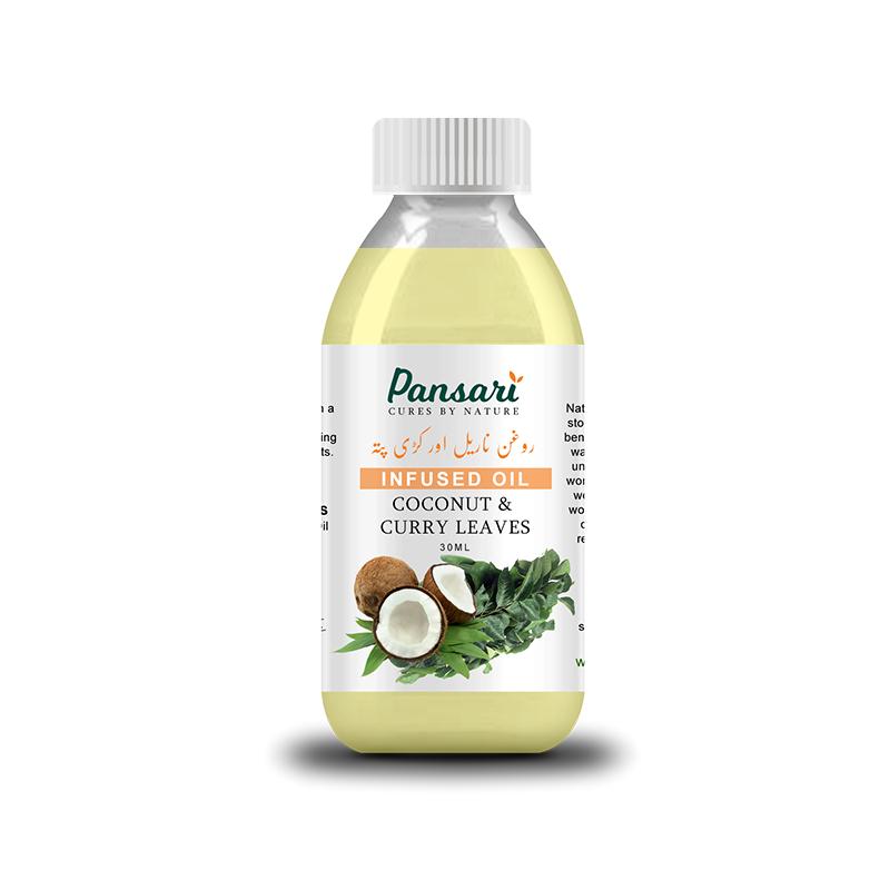 Pansari Coconut & Curry Leaves Infused Oil