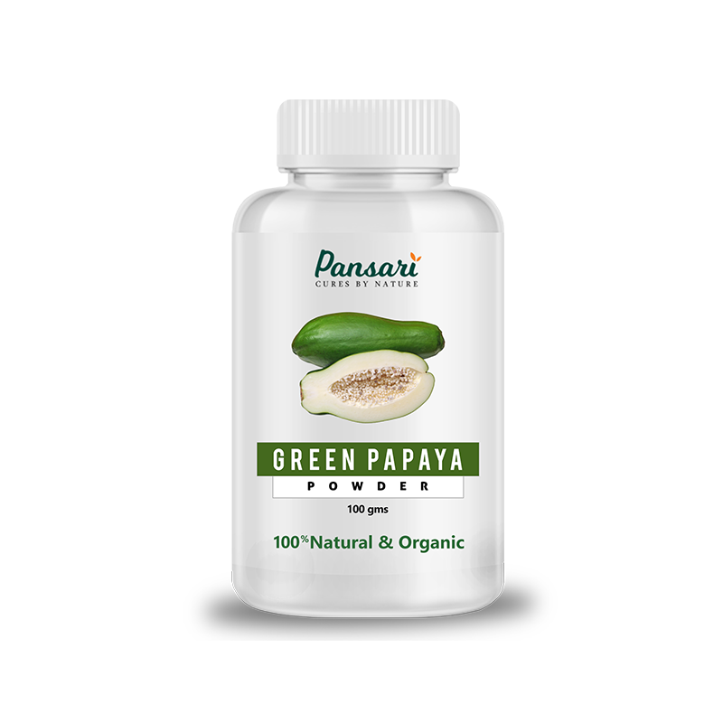 Pansari's Organic Green Papaya Powder