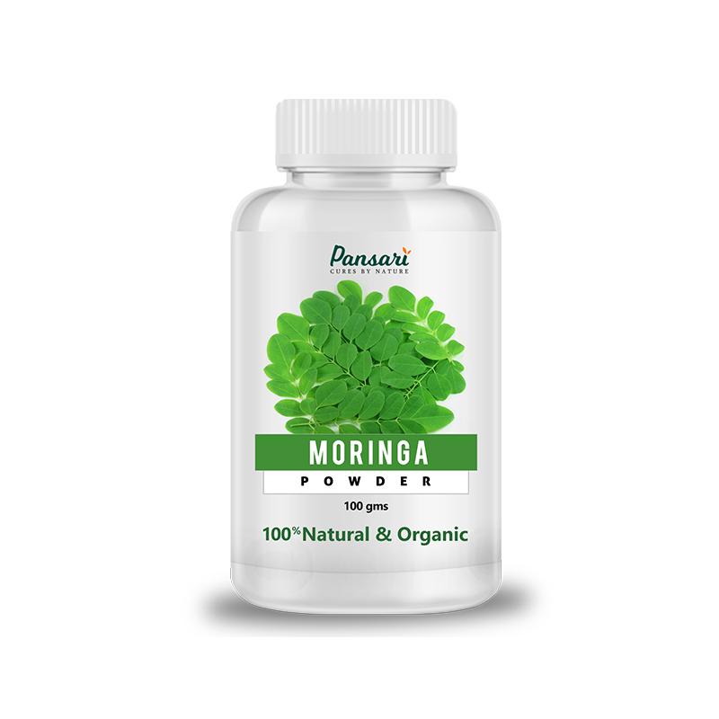 Pansari's Organic Moringa Leaf Powder