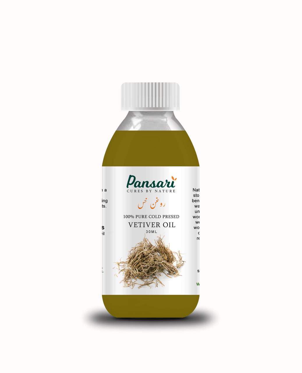 Pansari's 100% Pure Vetiver Oil