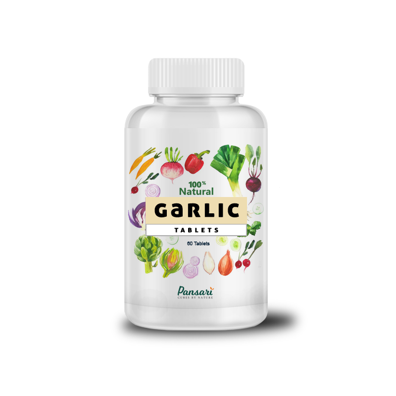 Pansari Organic Garlic Tablets