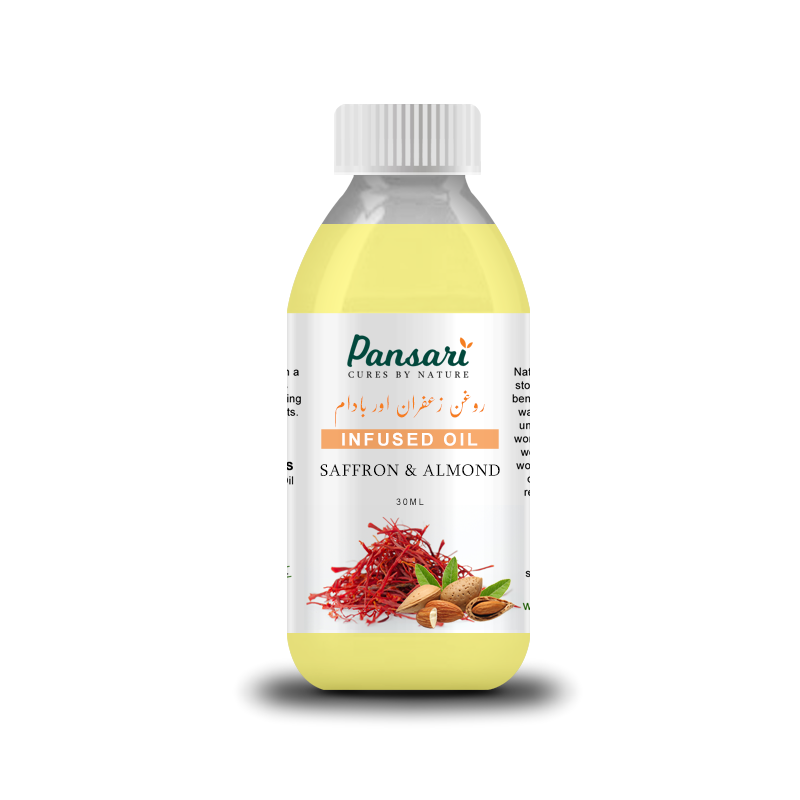 Pansari's Saffron & Almond Infused Oil