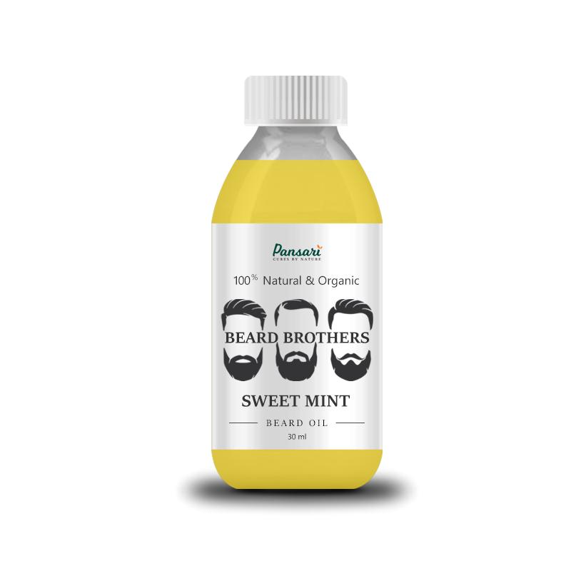 Pansari's Sweet Mint Beard Oil