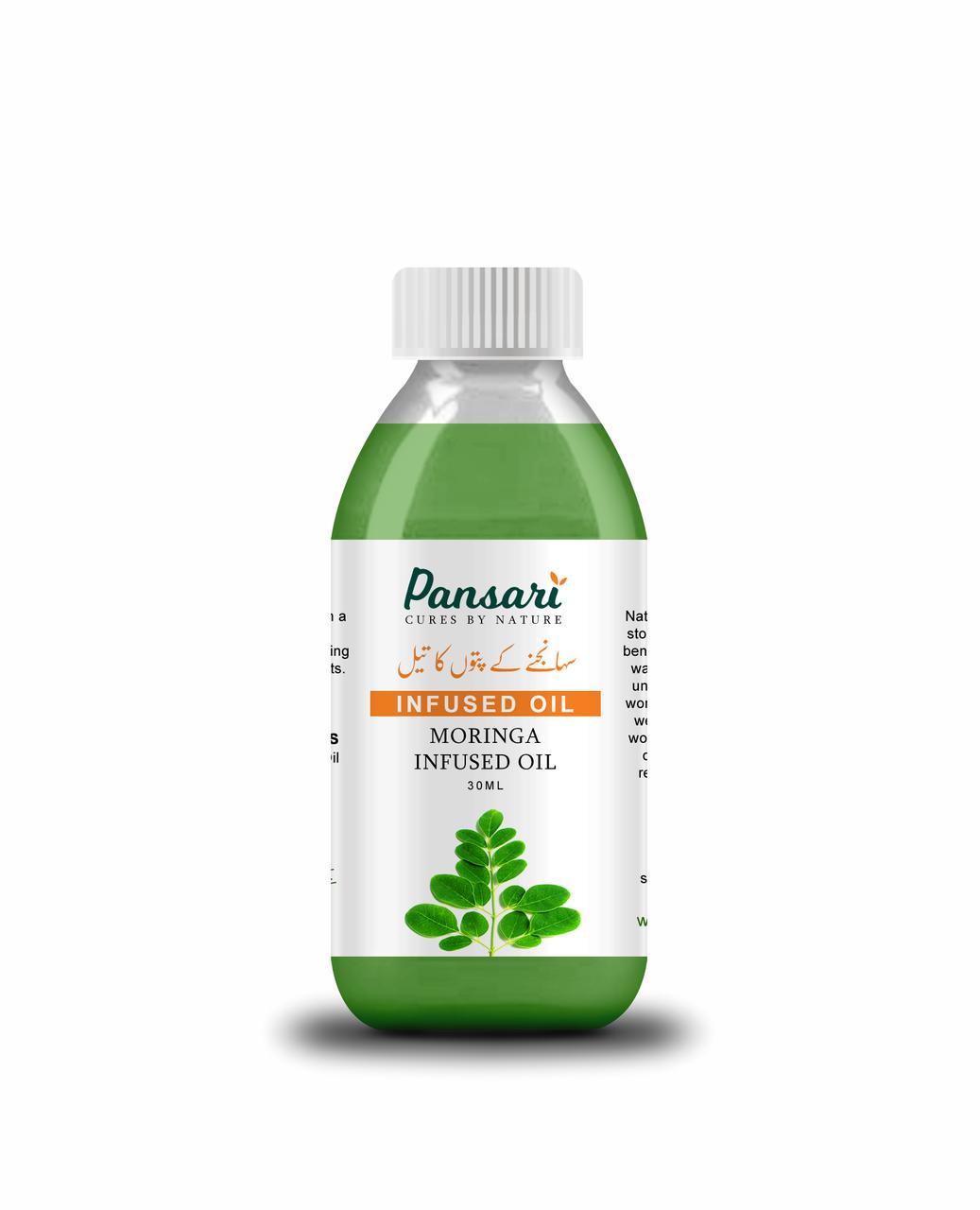 Pansari's Moringa Infused Oil