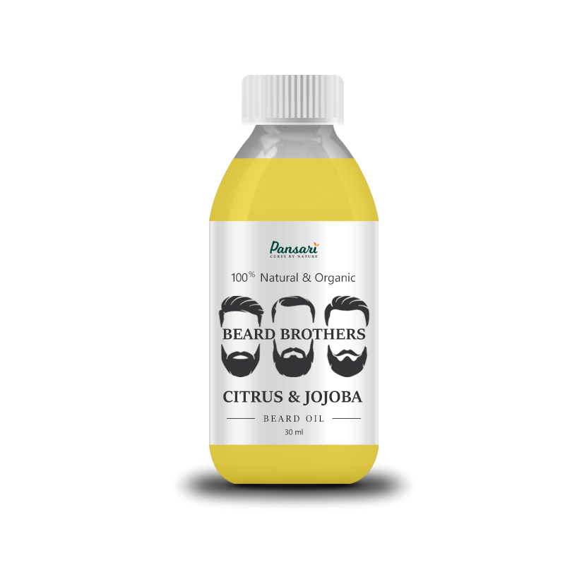 Pansari's Citrus & Jojoba Beard Oil