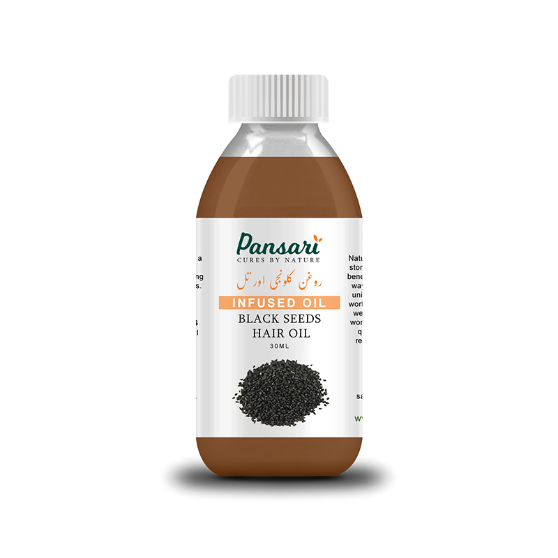 Pansari's Black Seed Infused Hair Oil