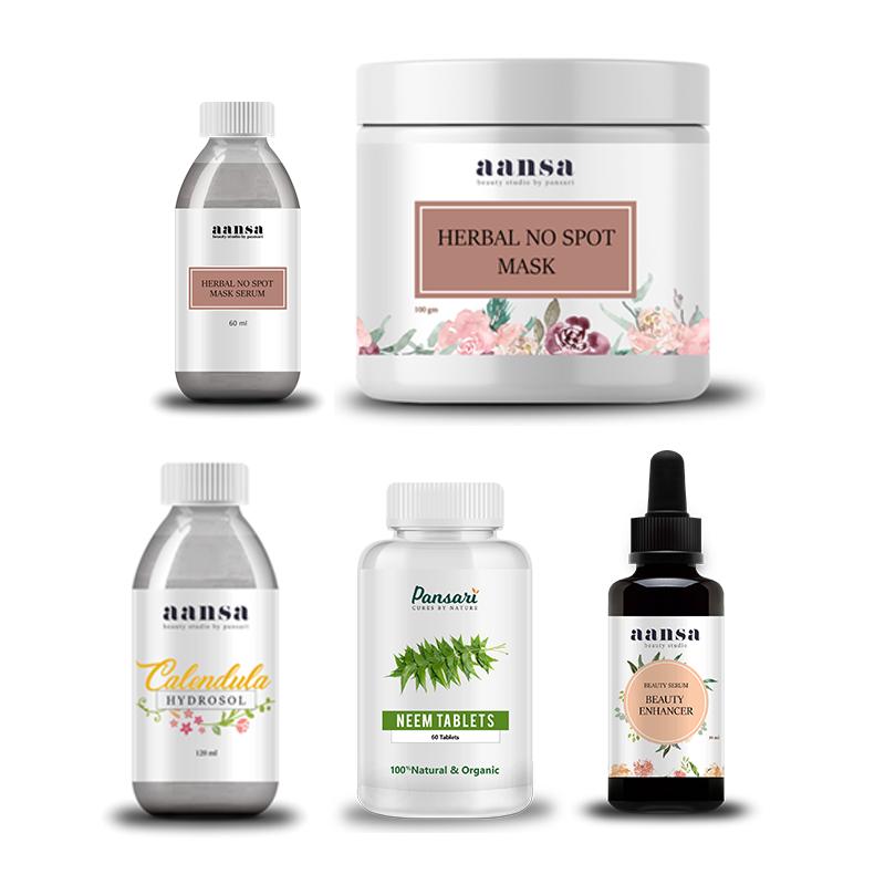 Pansari's Acne Skin Care Bundle