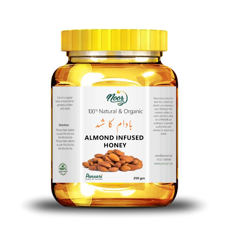 Almond Infused Honey
