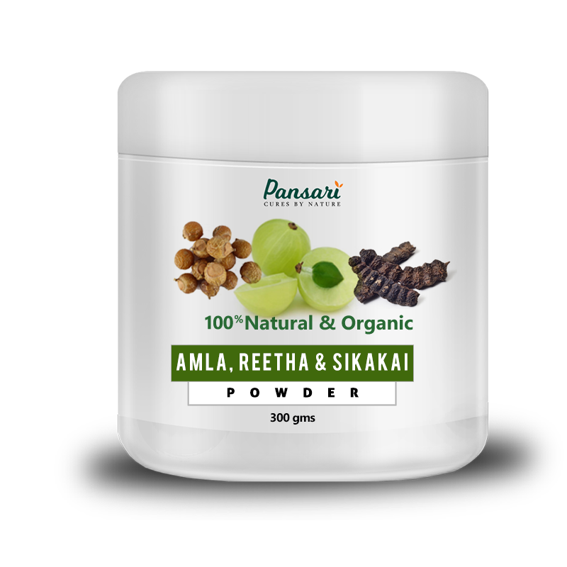 Amla, Reetha & Sikakai Powder