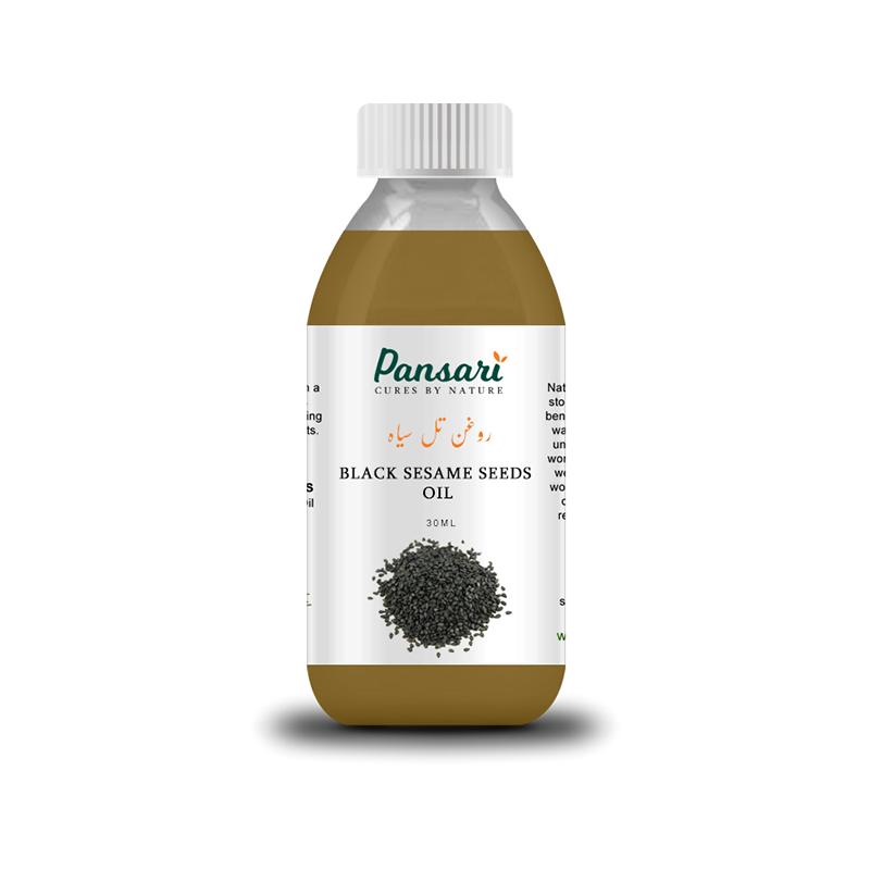 Pansari's 100% Pure Black Sesame Oil