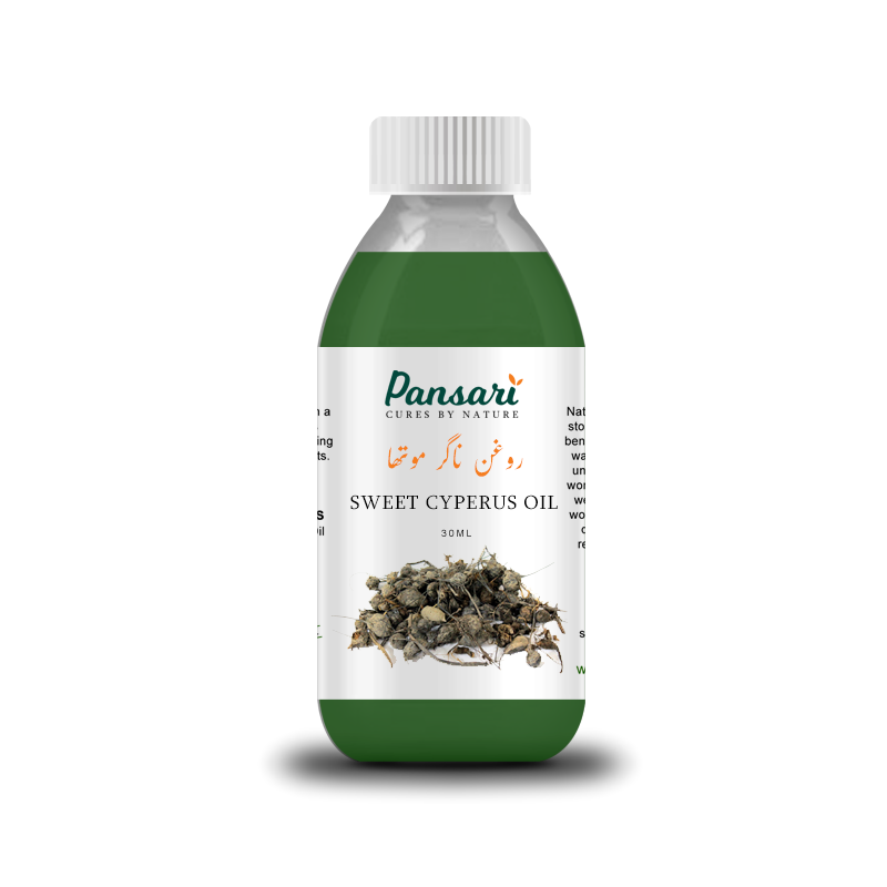 Pansari's 100% Pure Sweet Cyperus Oil