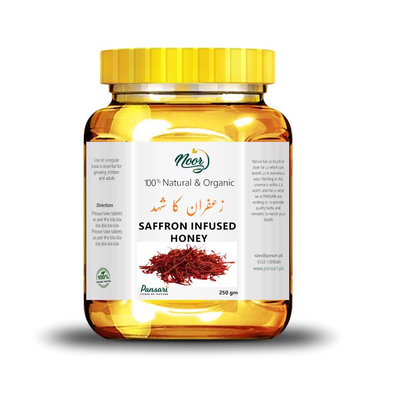 Buy Saffron Infused Honey in Pakistan